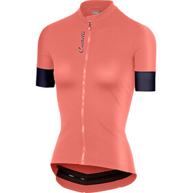 Castelli Anima 2 Bike Jersey Shortsleeve Women red